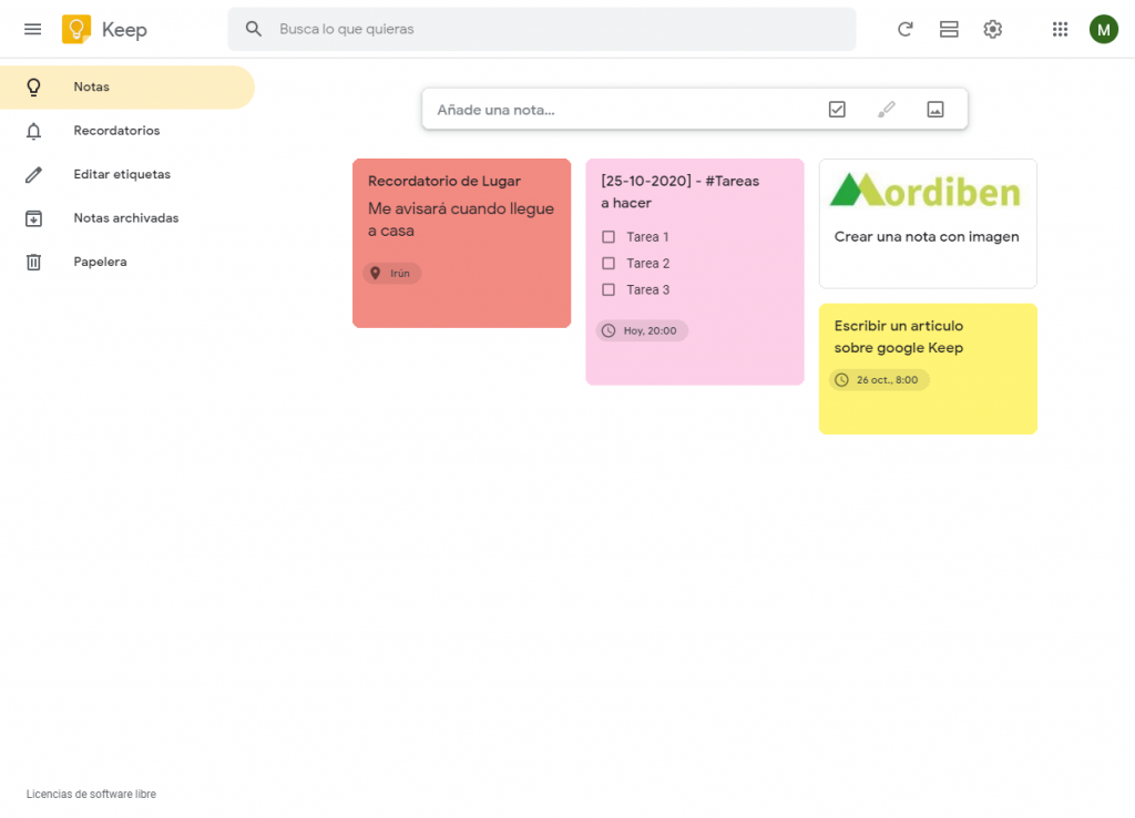 🎙Google Keep: Trucos y sugerencias para notas y listas 2